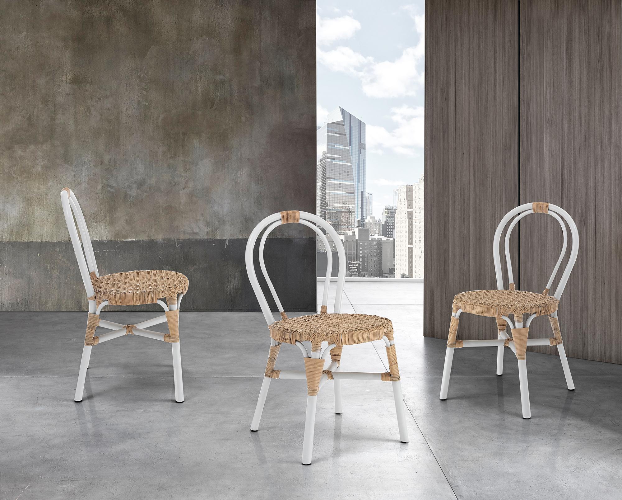 Sedie e sgabelli : Sedia COCO WHITE